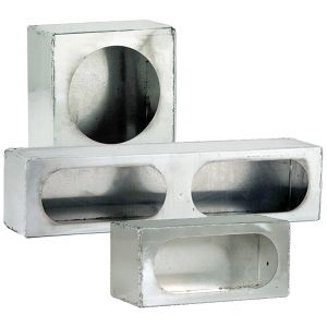 Enclosed Light-Mounting Boxes - Stainless-Steel