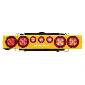 Towmate Wireless 36 in Wide Load Light Bar w Back Up Lights