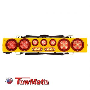 """Towmate 36"""" Wireless LED Wide Load Bar With Strobes"""
