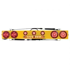 "Towmate 48"" Wireless LED Wide Load Bar With Warning Strip"