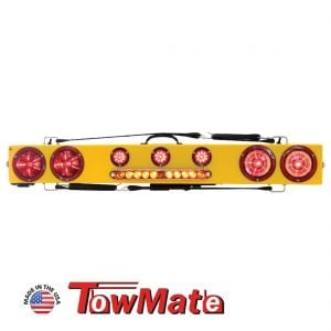 """Towmate 48"""" Wireless LED Wide Load Bar With Warning Strip"""