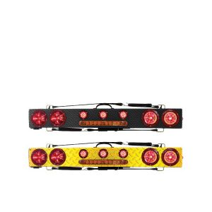 Towmate Wireless LED Wide Load Bars With Warning Strips