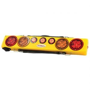 Towmate Wireless Wide Load Light Bars With Strobes