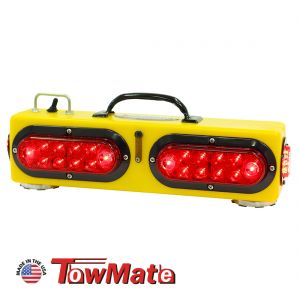 """Towmate 16"""" Wireless Wide Load Tow Light With Center And End Markers"""