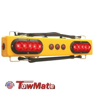 """Towmate 25"""" Wireless Wide Load Light Bar with Marker Lights"""