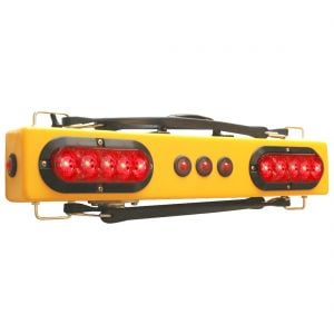 "Towmate 25"" Wireless Wide Load Light Bar with Marker Lights"