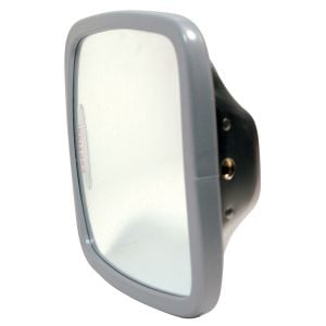 """Truck Mirror 6.5"""" x 6"""" Wide Angle Convex - Stainless"""