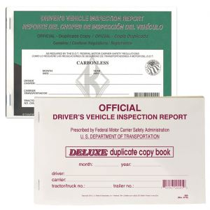 Driver Equipment Inspection Report - Duplicate Forms