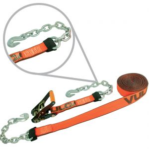 "VULCAN PROSeries 2"" Ratchet Straps with Chain Anchors"