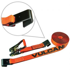 "VULCAN PROSeries 2"" Ratchet Straps with Flat Hooks"