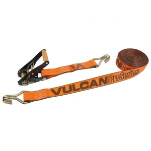 """VULCAN PROSeries 2"""" Ratchet Straps with Wire Hooks"""