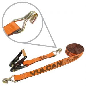"VULCAN PROSeries 2"" Ratchet Straps with Wire Hooks"