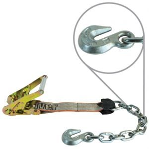 VULCAN Silver Series Ratchet Short End With Chain Anchor