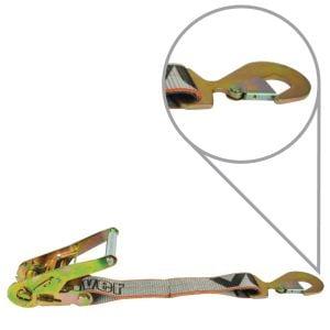 VULCAN Silver Series Ratchet Short End With Flat Snap Hook