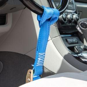 Nylon Steering Wheel Lock