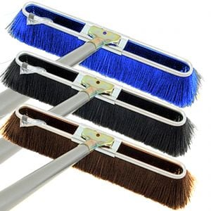 Steel-Handled Brushes - Fine to Coarse