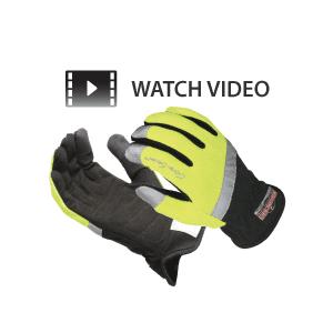 RADIANS Radwear Silver Series High-Viz Work Gloves