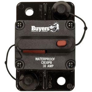 Buyers Push-To-Trip Manual Circuit Breakers