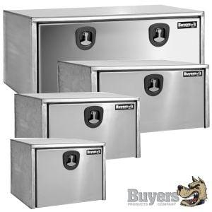 BUYERS Stainless Steel Underbody Toolboxes - Single Door