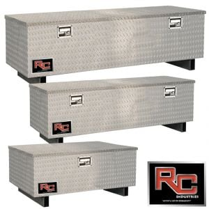 RCI Aluminum Chest-Style Toolboxes