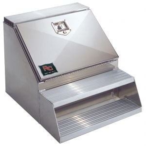 RCI Aluminum Tough-Step Toolboxes with Stainless Steel Door