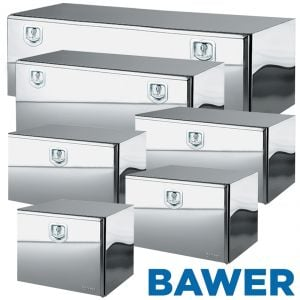 Bawer All Stainless Steel Tool Boxes