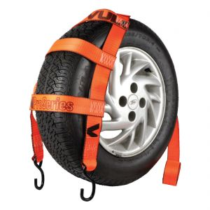 VULCAN PROSeries 78'' Basket Style Wheel Dolly Tire Strap with S-Hooks, 1665 lbs SWL