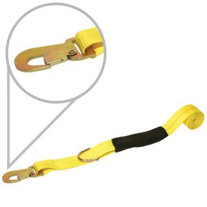 Universal Wheel Lift Harness - Floating Snap Hook & D-Ring