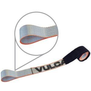 "VULCAN Silver 96"" Eye Loop Wheel Dolly Tire Harness, 3300 lbs. SWL"