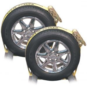 HD Wheel Dolly Wrap with Ratchet - Pair
