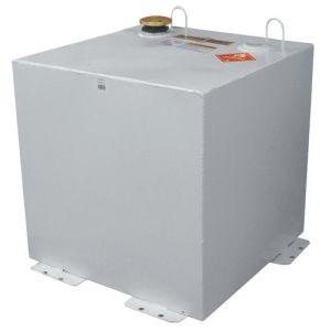 Square Steel Fuel Transfer Tank - 50 Gallon