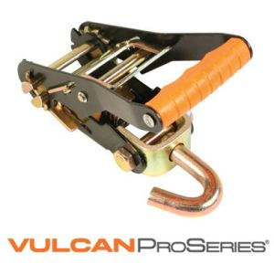 "VULCAN PROSeries 2"" Ratchet Buckle withFinger Hook, 3300 lbs. SWL"