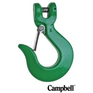 Campbell G100 Sling Hooks, Self Attaching with latch