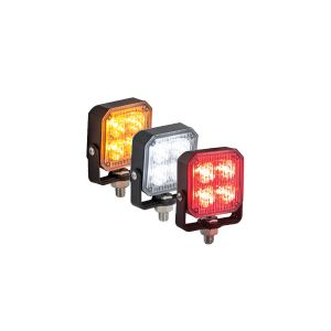 Super Square Strobing LED Warning Lights