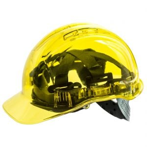 Portwest Peak View Clear Shell Hard Hats