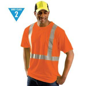Reflective ANSI Class 2 Wicking T-Shirt