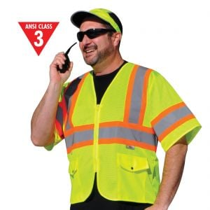 Class 3 High Contrast DOT Safety Vest