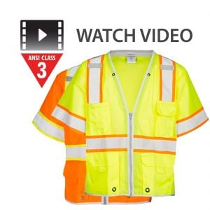 Class 3 Brilliant Series Heavy Duty Vest