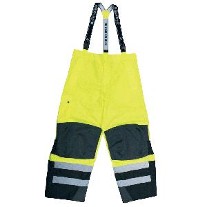 Scratch And Dent Class E Rip Stop Rain Pants - Lime - 3XL