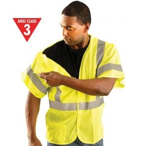 Occunomix Class 3 Mesh 5 Point Breakaway Vest