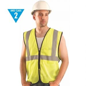 Class 2 Deluxe Reflective Safety Vests