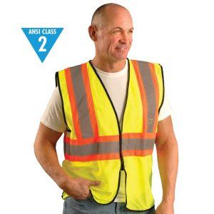 Class 2 Two-Tone Mesh Vest