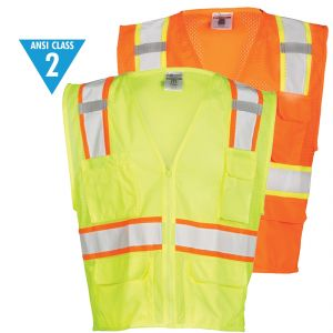 Class 2 Ultra-Cool Multi-Pocket Vests