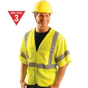 Class 3 Mesh Reflective Surveyor's Vests