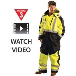 Class 3 Speed Collection Premium Cold Weather Coverall