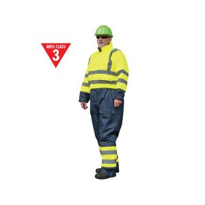Portwest High Visibility Winter Lined Coveralls