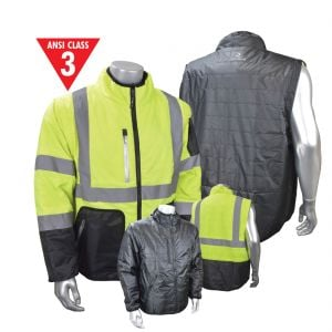 Radians Reversible Winter Safety Jacket