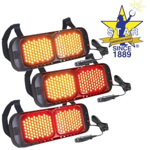 LED Flashing Visor Lights