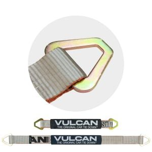 VULCAN Silver Series Single Ply 2'' Axle Straps