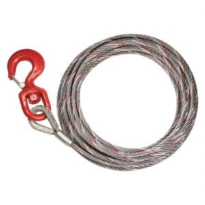 VULCAN PROSeries Steel-Core Winch Cables - Swivel Hook